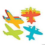 Foam Jumbo Airplane Shapes