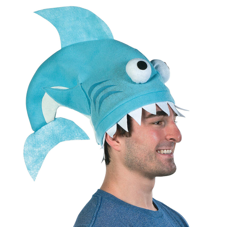 Shark Fin Hat Novelty Hats Caps amp Bandanas