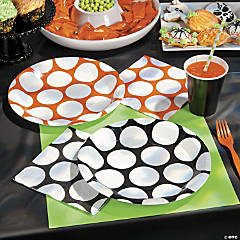 Black & Orange Halloween Party Supplies