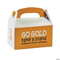 Childhood Cancer Awareness Treat Boxes