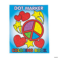 Dot Marker Coloring Books