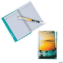 Beach Notebook with Pen