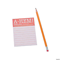 A-HEM! Sticky Notes