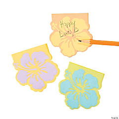 Hibiscus Sticky Notes