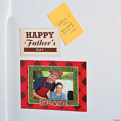 Father's Day Magnetic Picture Frames