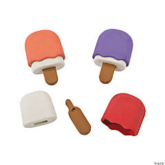 Popsicle Erasers