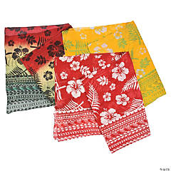 Men's Tropical Luau Sarong Wraps