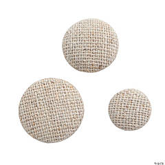 Linen Button Assortment