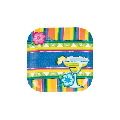 quickview · image of Margarita Fiesta Paper Dessert Plates with sku13641366  sc 1 st  Oriental Trading & Fiesta Paper Dinner Plates