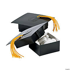 Mortar Board Treat Boxes