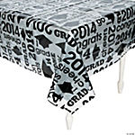 2014 Grad Clear Tablecloth