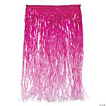 Hot Pink Ombre Color Grass Hula