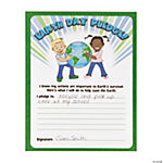 Earth Day Pledge Certificates