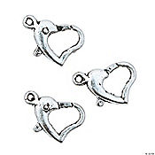 Heart Lobster Clasps