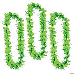 Tinsel Lime Green Leis