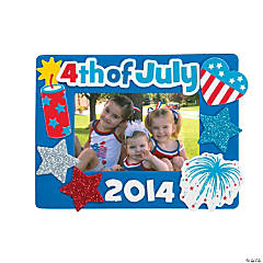 4th of July Picture Frame Craft Kit