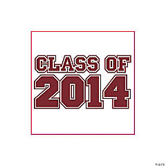 Class of 2014 Burgundy Tattoos