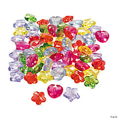 Transparent Faceted Bead Assortment