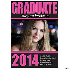 Graduate 2014 Custom Photo Invitations