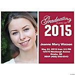 2014 Grad Custom Photo Horizontal Invitations