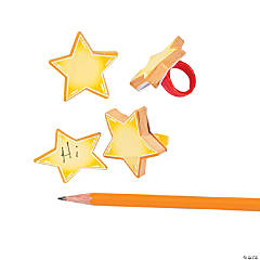 Star Notepad Rings