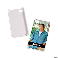 White Custom Photo iPhone® 5 Case