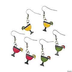 Tropical Drink Charm Earrings
