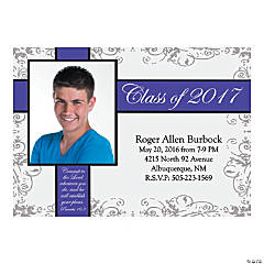 2014 Inspirational Graduation Custom Photo Invitations