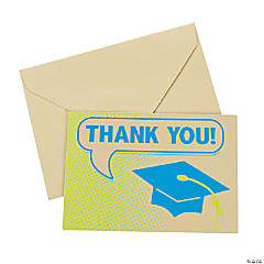 Thought Bubble Graduation Thank You Notes