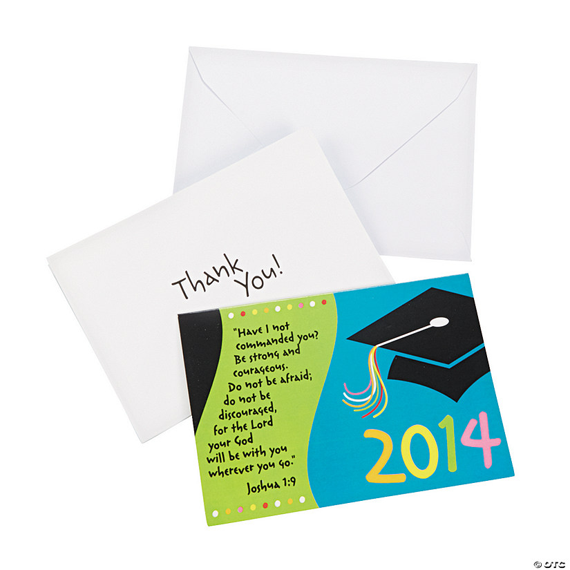 Religious Graduation Thank You Notes