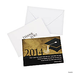 Inspirational Graduation Thank You Notes