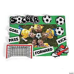 Soccer Picture Frame Craft Kit