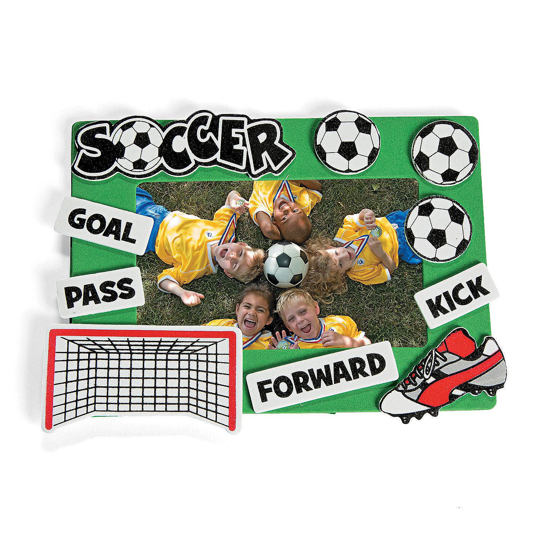 Soccer Picture Frame Craft Kit