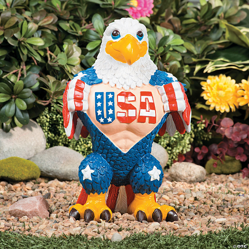 American Eagle Garden Statue