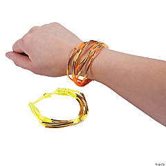 Neon Metal Accent Friendship Bracelets