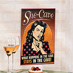She-Cave Sign