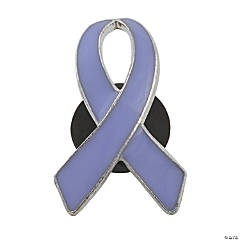 Lavender Awareness Ribbon Pins