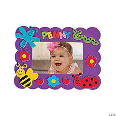Bug Picture Frame Magnet Craft Kit