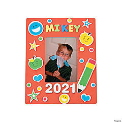 School Picture Frame Magnet Craft Kit
