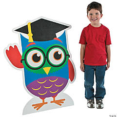 Graduation Owl Stand-Up