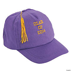 Purple Class of 2014 Graduation Baseball Cap