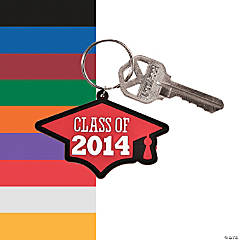 Class of 2014 Graduation Key Chains