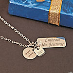 Personalized Embrace the Journey Necklace