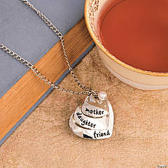 Mother, Daughter, Friend Necklace