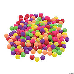 Neon Round Beads Assortment
