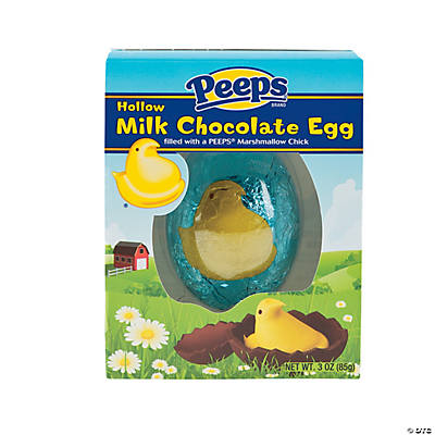 Peeps® Milk Chocolate Egg with Peeps Marshmallow Chick