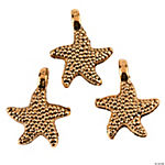 Goldtone Starfish Charms