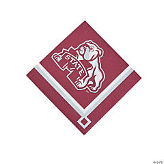 NCAA™ Mississippi State Bulldogs Beverage Napkins