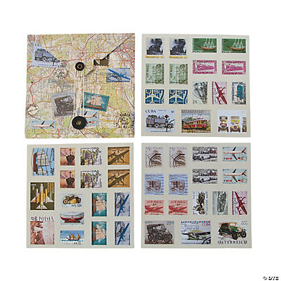Travel Stamp Stickers