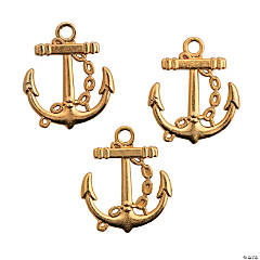 Goldtone Anchor Charms
